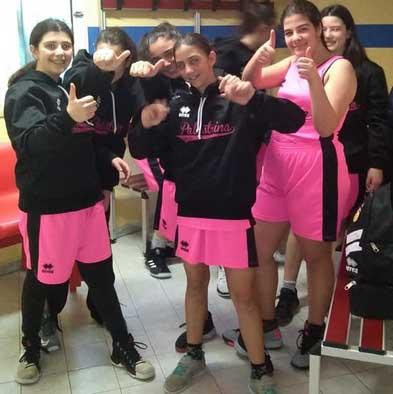 La squadra femminile del Palestrina