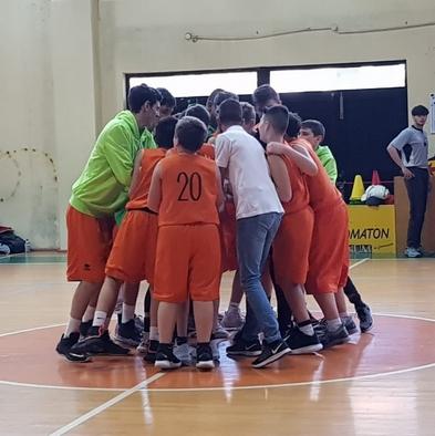 La squadra Under 14 di Palestrina