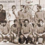 Il roster di Palestrina nel 1972
