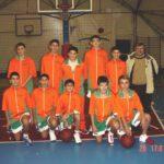 La squadra BAM di Palestrina nel 2003 composta dai 1990