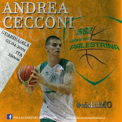 Andrea Cecconi al tiro