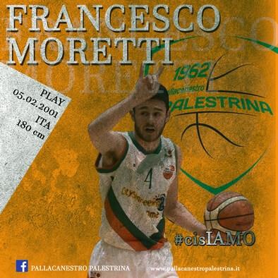 Francesco Moretti in azione