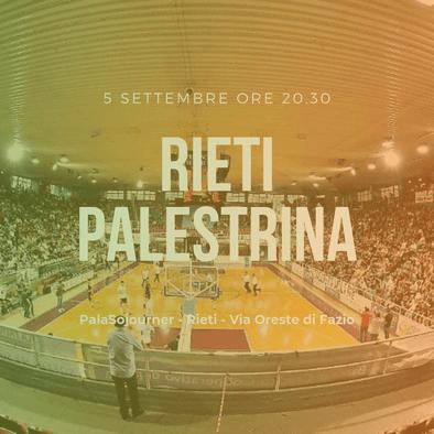Banner amichevole Rieti