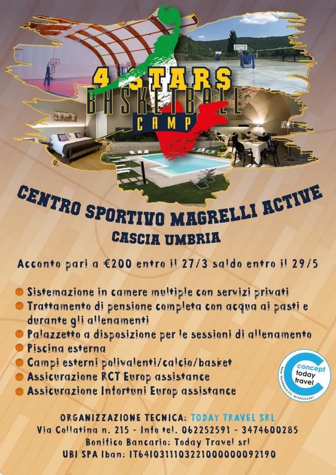 programma del camp estivo