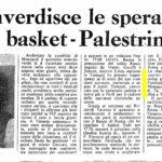articolo giornale 1973