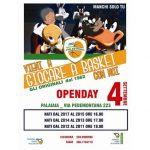 locandina con open day